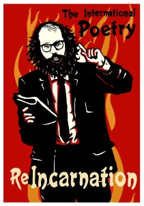 Our beautiful Allen Ginsberg poster, by Chris Hopewell of Jacknife.